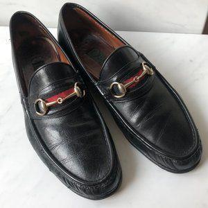 Mens Vintage Gucci Horsebit Loafers